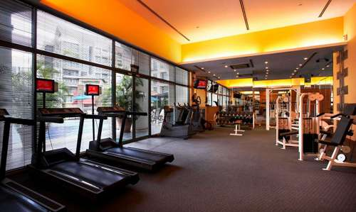Fitness centre at Fraser Place Robertson Walk Singapore.