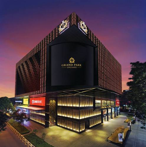 Grand Park Orchard Hotel in Singapore.