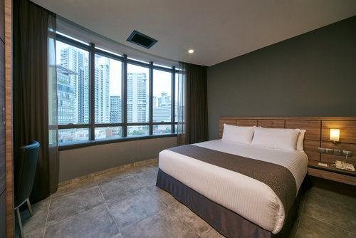 Guest apartment at Orchard Grand Court Singapore.