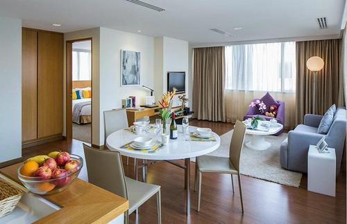 Guest apartment at Park Avenue Clemenceau Singapore.