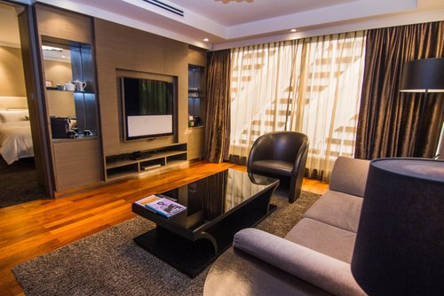 Guest room at Grand Park Orchard Singapore.