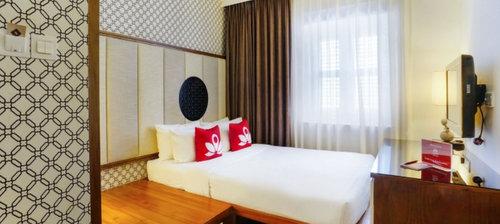 Guest room at ZEN Premium Kampong Glam Singapore.