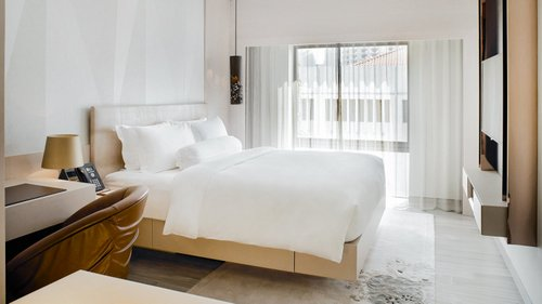 Habitat Room at Naumi Hotel in Singapore.