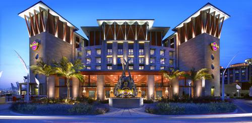 Hard Rock Hotel at Resorts World Sentosa Singapore.
