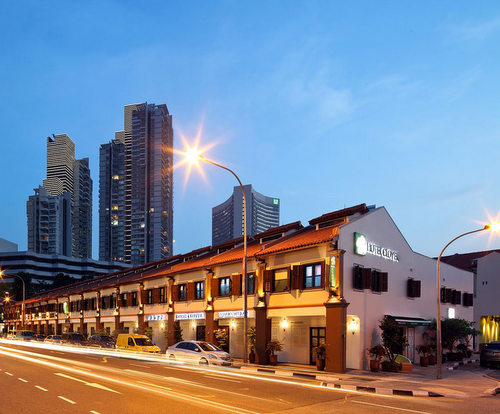 Hotel Clover 33 Jalan Sultan Singapore.