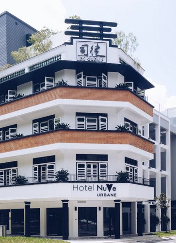 Hotel NuVe Urbane Singapore.