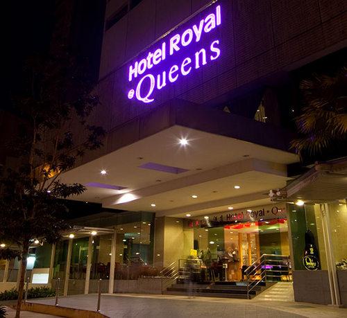 Hotel Royal @ Queens Sintapore.