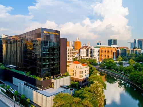 InterContinental Singapore Robertson Quay hotel.