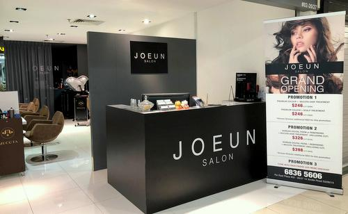Joeun Salon - Korean Hair Salon in Singapore - Far East Plaza.