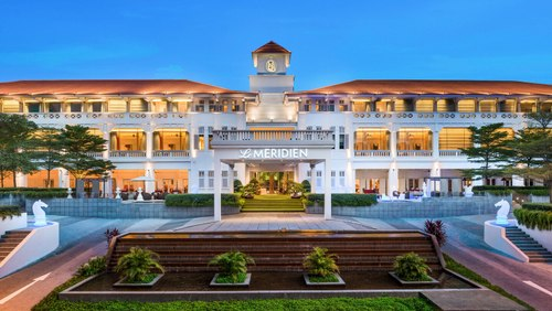 Le Méridien Singapore, Sentosa hotel.