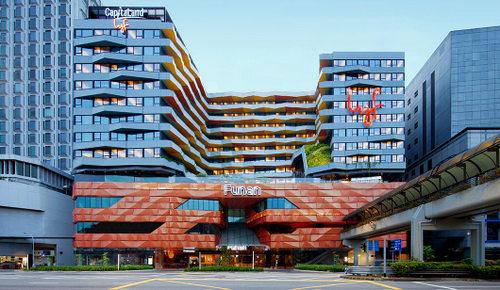 lyf Funan Singapore hotel.