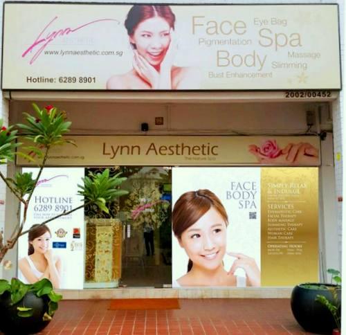 Lynn Aesthetic beauty spa in Singapore.