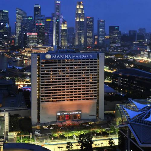 Marina Mandarin Singapore hotel.