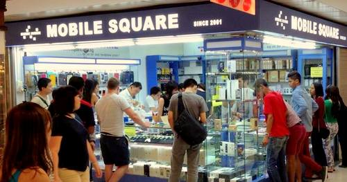 Mobile Square - Mobile Phone Shop in Singapore - Far East Plaza.