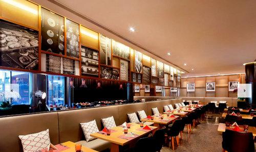 New Ubin restaurant at Ramada by Wyndham Singapore at Zhongshan Park.