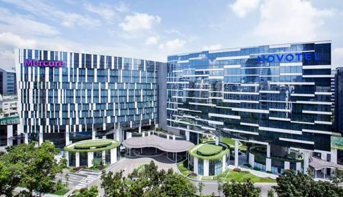 Novotel Singapore on Stevens hotel.