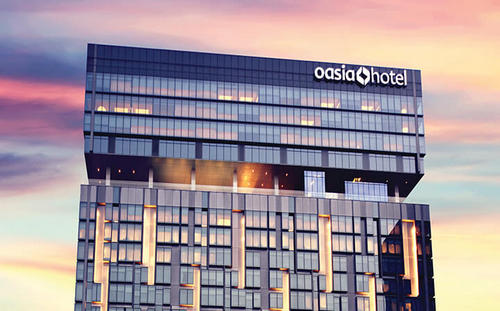 Oasia Hotel Novena Singapore.