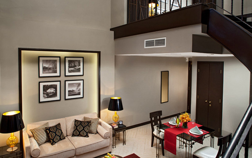One-Bedroom Loft at Orchard Parksuites - Serviced Apartments in Singapore.