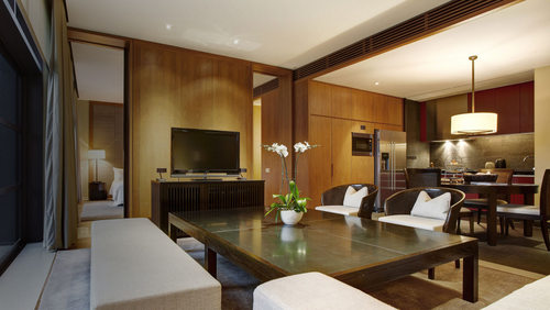 One-Bedroom Suite at Capella The Club Residences in Singapore.