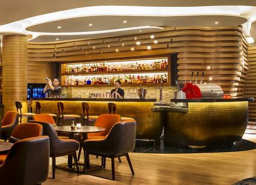 Opus Bar & Grill at Hilton Singapore.