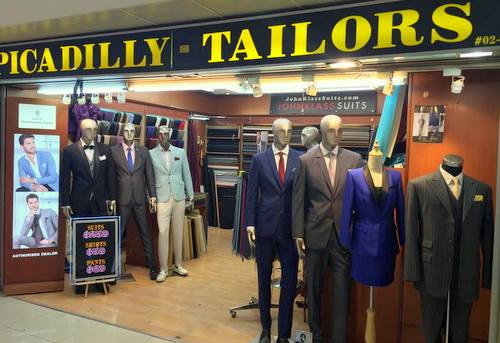 Picadilly Custom Tailors -Tailor in Singapore