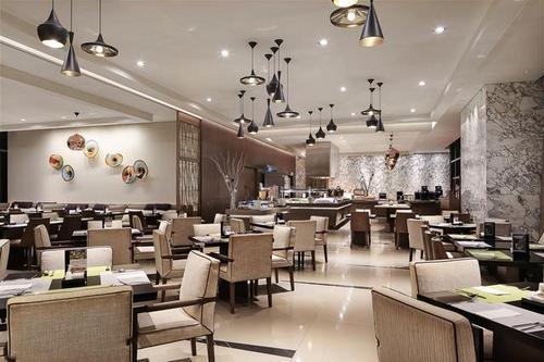 Plate restaurant at Carlton City Hotel Singapore.