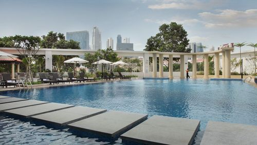 Pool at Park Hotel Clarke Quay Singapore.