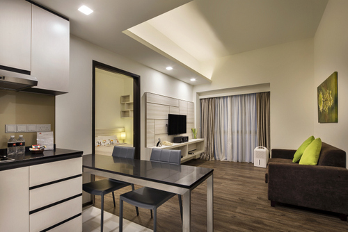 Premier Apartment - 1 Bedroom at Orange Grove Serviced Apartments in Singapore.