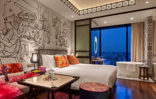 Premium room at Hotel Indigo Singapore Katong.