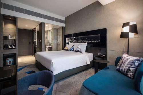 Premier room at Novotel Singapore on Stevens hotel.