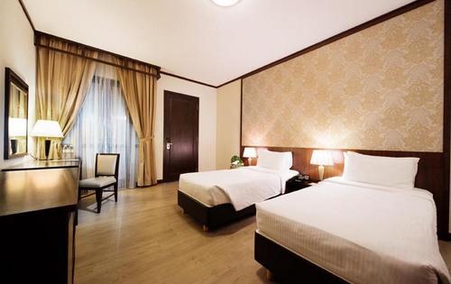 Premier room at Village Hotel Albert Court Singapore.