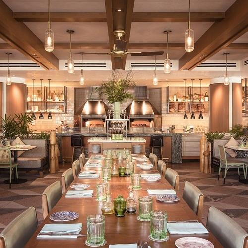 Publico Ristorante restaurant at InterContinental Singapore Robertson Quay hotel.