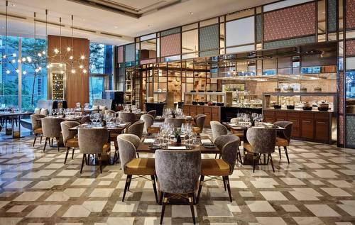 Racines restaurant at Sofitel Singapore City Centre.