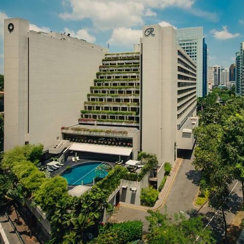 Regent Singapore hotel.