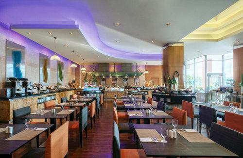 Restaurant at Novotel Clarke Quay in Singapore.