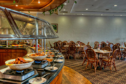 Restaurant at Orchard Grand Court Singapore.