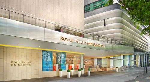 Royal Plaza on Scotts Hotel in Singapore.
