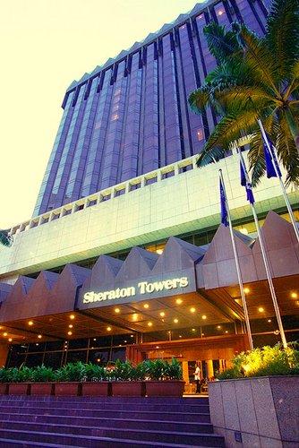 Sheraton Towers Singapore Hotel.