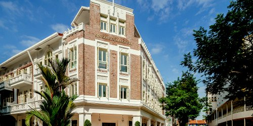 Six Senses Maxwell hotel in Singapore.