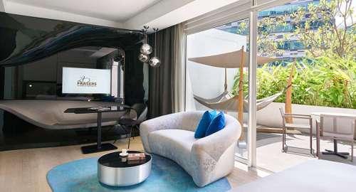Studio Premier Suite at Capri by Fraser Changi City Singapore.