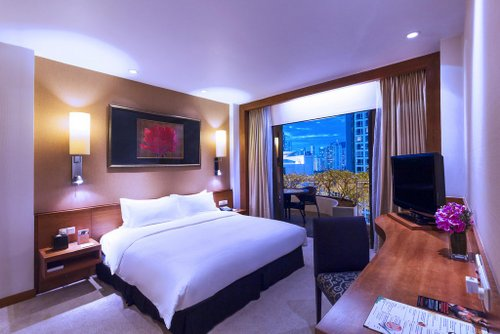 Suite at Copthorne Kings Hotel in Singapore.