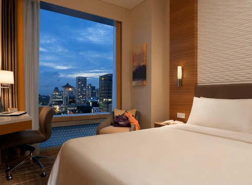 Superior Cityview Room at Hotel Jen Orchardgateway Singapore.