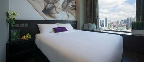 Superior room at V Hotel Lavender Singapore.