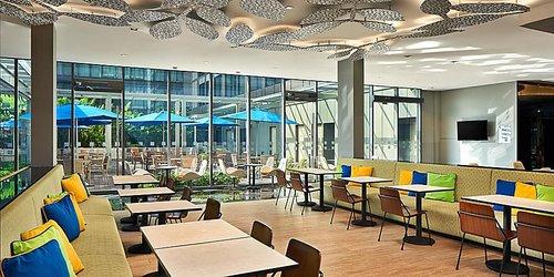 The Great Room restaurant at Holiday Inn Express Singapore Katong hotel.