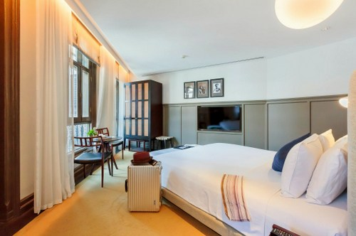 The Wellbeing Suite at Ann Siang House hotel in Singapore.