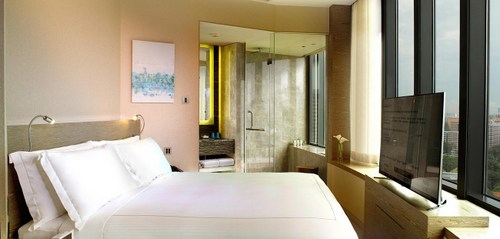 Urban Suite at One Farrer Hotel in Singapore.