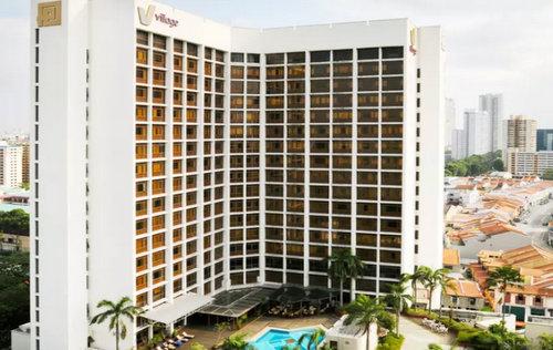 Village Hotel Bugis Singapore.