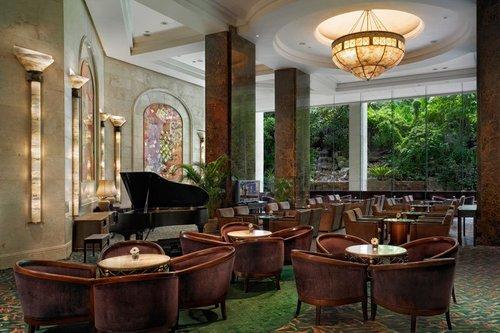 Waterfall Lounge at Furama RiverFront Hotel Singapore.