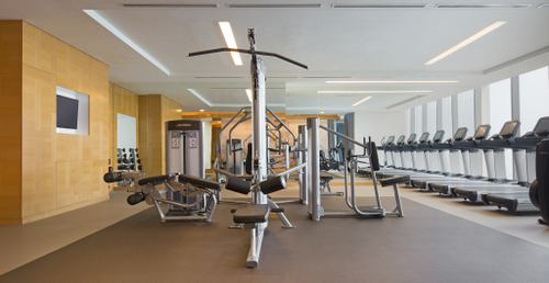 WESTINWorkout Fitness Studio at The Westin Singapore.