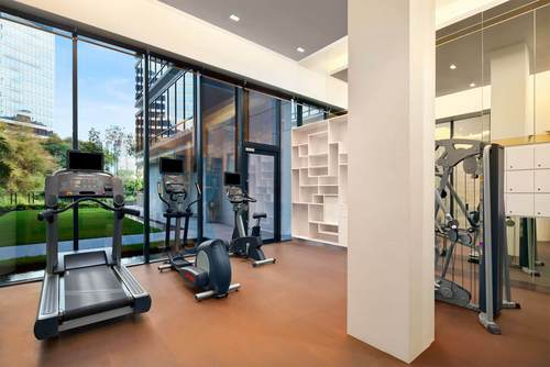 24-hour fitness centre at Days Hotel Singapore.